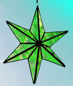 3D star suncatcher